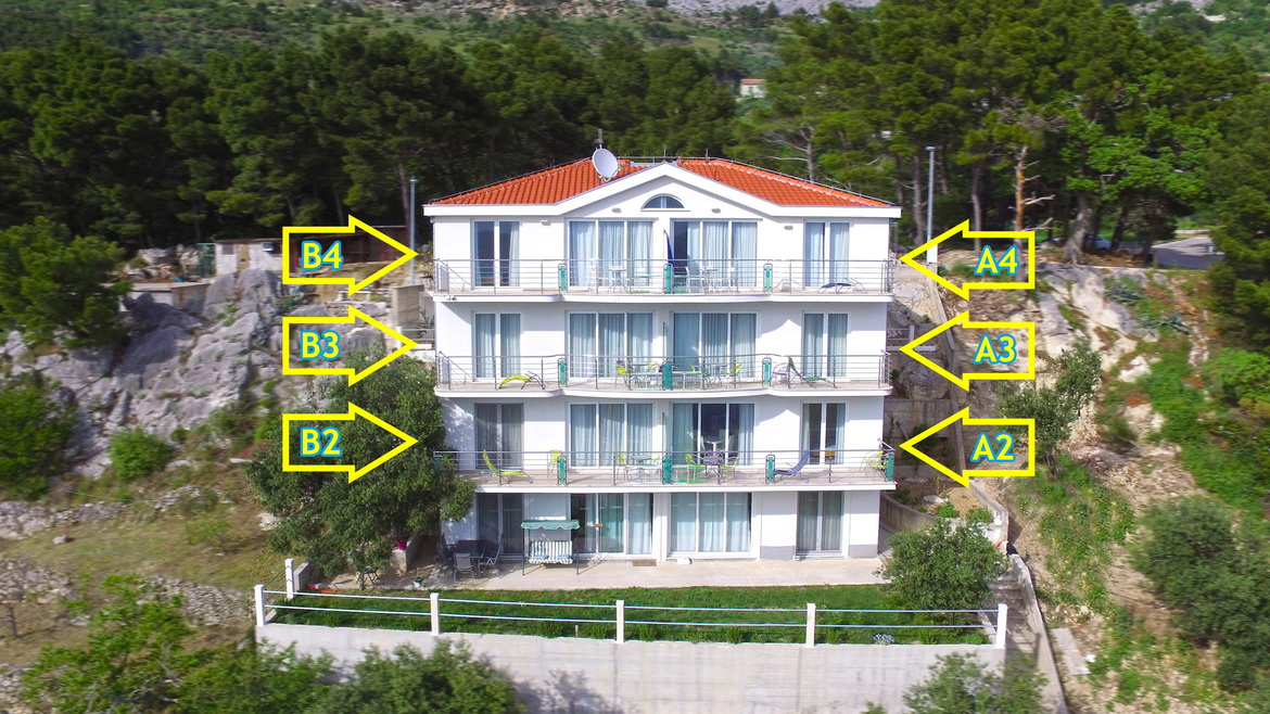 Apartments in Villa